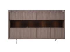 Credenza in legno con illuminazione integrataLIAGÒ | Credenza - B&B ITALIA