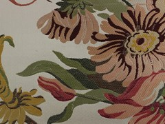LELIEVRE, TASSINARI & CHATEL - LIANCOURT Tessuto in seta con motivi floreali