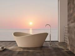 Vasca da bagno centro stanza ovale in pietra lecceseLIBECCIO | Vasca da bagno - PIMAR