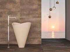 Lavabo freestanding ovale in pietra lecceseLIBECCIO | Lavabo - PIMAR
