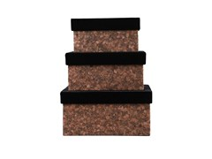 Contenitore in velluto LIEGA -SET OF 3 - SPECKTRUM