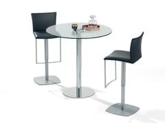Tavolo ad altezza regolabile in vetro LIFT -