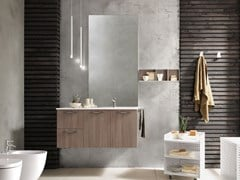 Mobile lavabo singolo sospeso LIGHT 02 - ARCHEDA