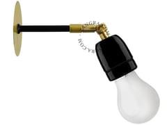 Lampada da parete orientabile in porcellana con braccio fisso LIGHT.036.002 - Pure Porcelain