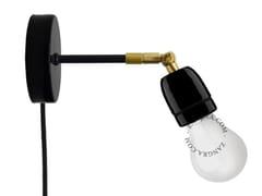 Lampada da parete orientabile in porcellana con braccio fisso LIGHT.036.026 - Pure Porcelain