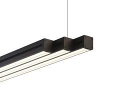 Lampada a sospensione a LED in alluminio anodizzatoLIGHT GLIDE - FABBIAN