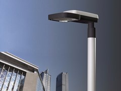 Lampione stradale a LEDLIGHT MILOS - NERI