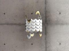 Lampada a sospensione a LED in porcellanaLIGHT SKIN | Lampada a sospensione a LED - BEAU & BIEN