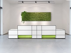 Banco reception per ufficio modulareLIGHTING OPTIONS - DAUPHIN HUMAN DESIGN® GROUP