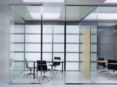 Parete mobile in vetro temperato per ufficioLIGHTWALL - ELITABLE