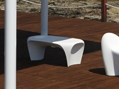 Tavolino basso in Poleasy® per contract LILY | Tavolino per contract - Lily