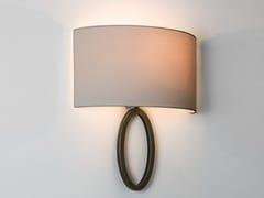 Lampada da parete in acciaio e tessutoLIMA - ASTRO LIGHTING