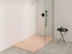Piatto doccia rettangolare in Silexpol®LIMITE - FIORA