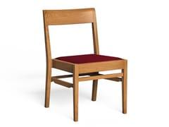 Sedia in legno con cuscino integratoLINCOLN - LUKE HUGHES & COMPANY
