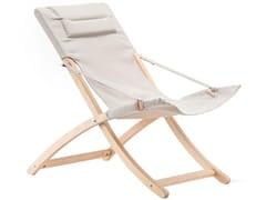 Sedia a sdraio pieghevole in legnoLINDA IN ROBINIA - FIAM
