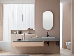 Top scatolato con lavabo integratoLINEÒ | Piano lavabo - ARBLU
