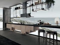 Cucina lineare in legnoLINE | Cucina - SHAKE