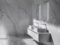 Mobile lavabo sospeso con cassettiLINE - GRES PANARIA PORTUGAL