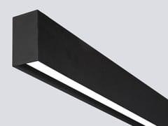 Profilo per illuminazione lineare da soffitto in alluminio estruso per moduli LED LINE R - Line