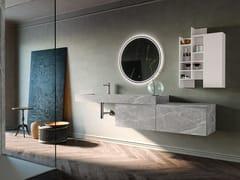 Mobile lavabo in HPL con cassettiLINEA 02 - ARCHEDA