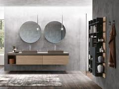 Mobile lavabo in legno con specchioLINEA 05 - ARCHEDA