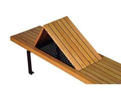 Seduta da esterni in legnoLINEA 395 - EUROFORM K. WINKLER