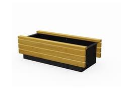 Euroform W, LINEAFIORE LIGHT | Fioriera per spazi pubblici in legno  Fioriera per spazi pubblici in legno