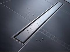 Canaletta per doccia in acciao inox LINEARIS COMFORT -