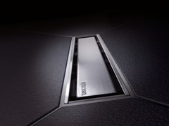 Kessel, LINEARIS COMPACT Canaletta per doccia in acciao inox