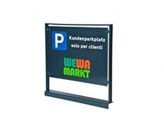 Bacheca autoportanteLINEASPOT - EUROFORM K. WINKLER
