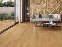 Pavimento/rivestimento in gres porcellanato effetto legnoLINEO HONEY - CERAMICHE KEOPE