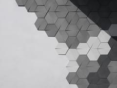 Piastrelle con superficie tridimensionale in calcestruzzoLING - BENTU DESIGN