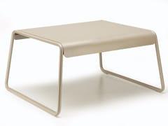 Tavolino a slitta rettangolare in acciaio con vassoioLISA LOUNGE   Tavolino da giardino - SCAB DESIGN