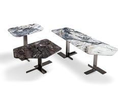 Tavolino in marmo da salotto LITH | Tavolino in marmo -