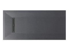 Piatto doccia antiscivolo filo pavimento in Texolid®LITO - RELAX DESIGN