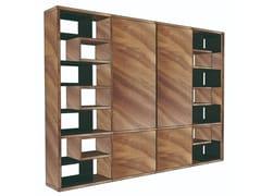 Parete attrezzata autoportante in legnoLIVIA | Parete attrezzata - PH COLLECTION
