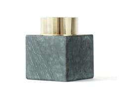 Vaso / portacandele in marmoLIVING OBJECTS NO 4 TEALIGHT - FÓLK REYKJAVIK