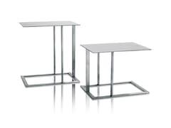 Tavolino di servizio in acciaio inoxLOFT | Tavolino - ARKETIPO