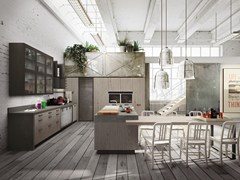 Cucina componibile con isola LOFT | Cucina con isola - SISTEMA