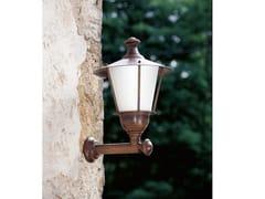 LAMPADA DA PARETE PER ESTERNO IN OTTONELOGGIATO | LAMPADA DA PARETE PER ESTERNO - ALDO BERNARDI