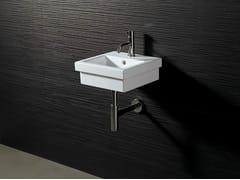 Lavamani quadrato sospeso LOGIC 35X35 - Logic