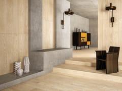 Pavimento/rivestimento in gres porcellanato effetto legno LOGOS IVORY - Logos