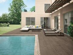 Pavimento per esterni in gres porcellanato effetto legno LOGOS TAUPE | Pavimento per esterni - Logos