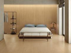 Pavimento/rivestimento in gres porcellanato effetto legno LOGOS WALNUT - Logos