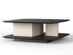 Tavolino rettangolare in MDF con portarivisteLOIS - NOW & FUTURE