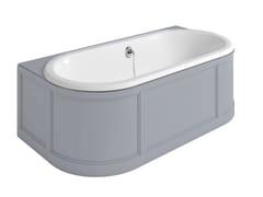 Vasca da bagno ovale in acrilico da incassoLONDON | Vasca da bagno angolare - CROSSWATER LIMITED