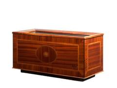 Portavaso rettangolare in legno impiallacciato con irrigazione automaticaLONDON | Portavaso rettangolare - HOBBY FLOWER