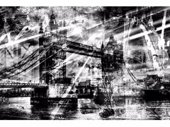 Stampa fotografica LONDON SHADOWS - FINE ART PHOTOGRAPHY - 99 LIMITED EDITIONS