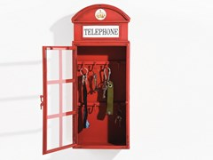 Mobiletto portachiavi in metallo LONDON TELEPHONE - KARE-DESIGN