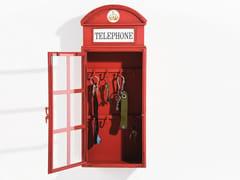 Mobiletto portachiavi in metalloLONDON TELEPHONE - KARE-DESIGN
